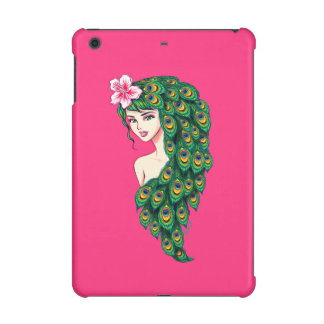 Elegant Peacock Goddess Art iPad Mini Case