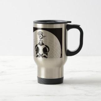 Elegant Peacock Stainless Steel Travel Mug