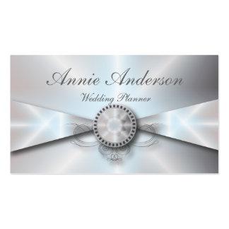 Elegant Pearl Wedding planner Business Cards