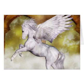 Elegant Pegasus Card