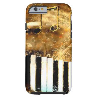 Elegant Piano Music & Notes Tough iPhone 6 Case