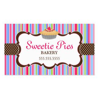 Elegant Pie Bakery Business Cards