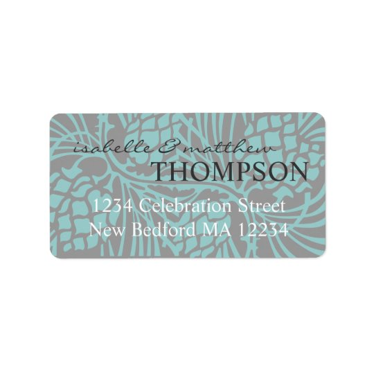 Elegant Pine Address Label