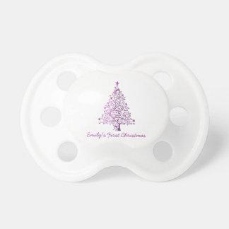 Elegant Pink Christmas Tree Holiday Season Dummy