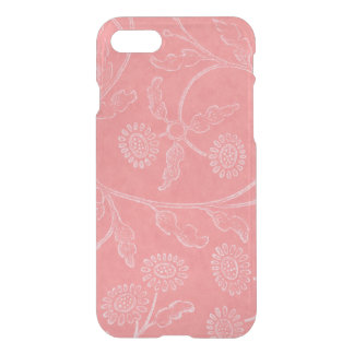 Elegant pink floral Pattern iPhone 8/7 Case