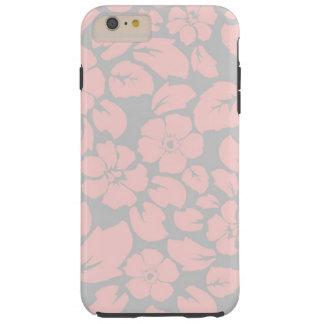 elegant pink floral tough iPhone 6 plus case