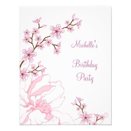 occasions birthday elegant white pink