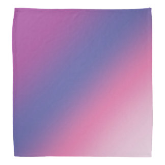 elegant pink purple blue ombre gradient colorful bandana