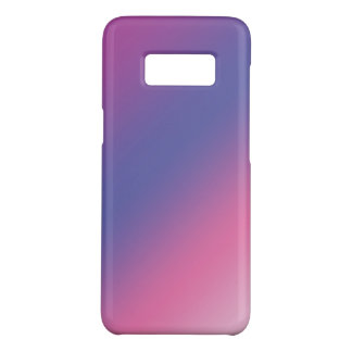 elegant pink purple blue ombre gradient colorful Case-Mate samsung galaxy s8 case