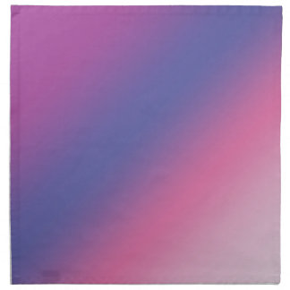 elegant pink purple blue ombre gradient colorful napkin