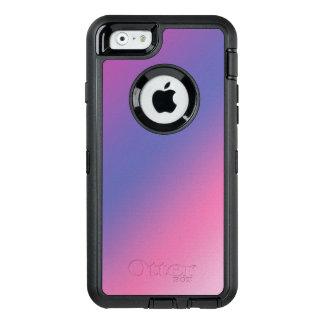 elegant pink purple blue ombre gradient colorful OtterBox defender iPhone case