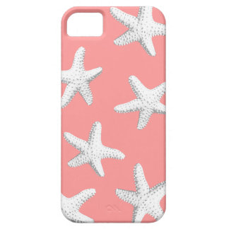 Elegant Pink Sea Stars Starfish iPhone 5 Case