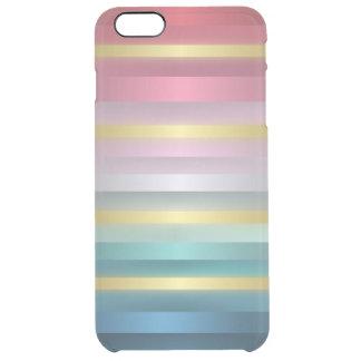 Elegant Pink Turquoise Gold Stripes