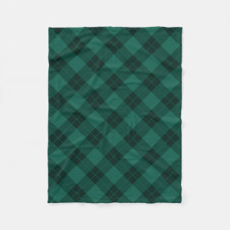 Elegant Plaid | Holiday Fleece Blanket