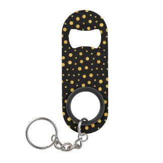 Elegant polka dots - Black Gold