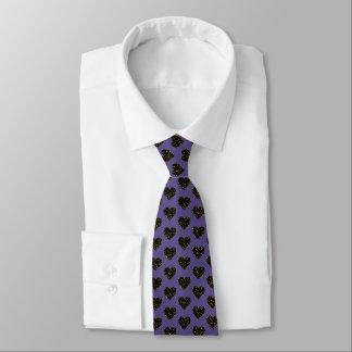 Elegant polka dots - Black Gold Tie