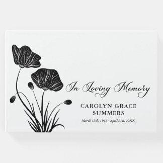 Elegant Poppies In Loving Memory Funeral