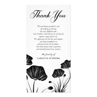 Elegant Poppies | Sympathy Thank You Card