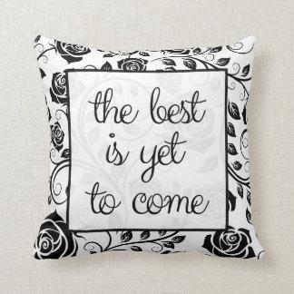 Elegant Positive Message Pillows
