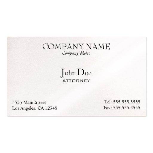 Elegant, Professional, Business Card