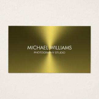 Elegant Professional Card Golden Brightness