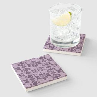 Elegant Purple And Lavender  Stone Coaster