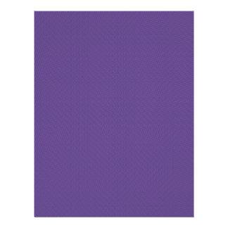 elegant purple damask circles on blue background personalized flyer