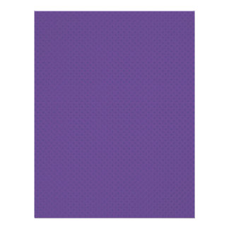 elegant purple damask circles on blue background custom flyer