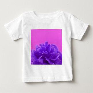 Elegant Purple Raspberry Floral Baby T-Shirt