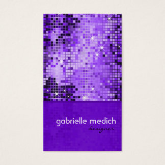 Elegant Purple Sequence Glitter Pattern