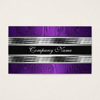Elegant Purple Silver Black 2