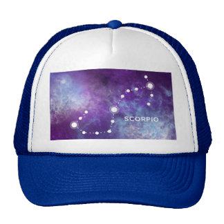 ELEGANT PURPLE WATERCOLOR UNIVERSE - SCORPIO CAP
