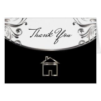 Elegant Real Estate Thank You Cards