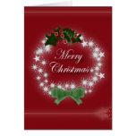 Elegant Red Christmas Wreath