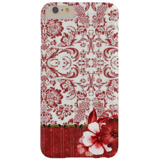 Elegant Red Floral iPhone / iPad case