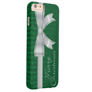 Elegant ribbon and stars barely there iPhone 6 plus case