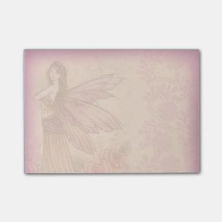 Elegant Rose Fairy Post-it Notes