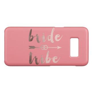 elegant rose gold bride tribe arrow wedding rings Case-Mate samsung galaxy s8 case