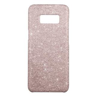elegant rose gold glitter Case-Mate samsung galaxy s8 case