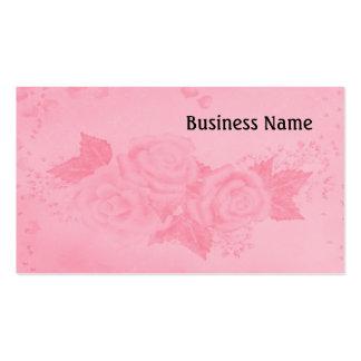 Elegant roses pack of standard business cards