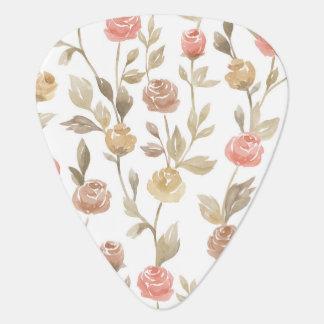 Elegant Roses Guitar Player Pick