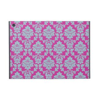 Elegant Rosy Pink Damask Case For iPad Mini