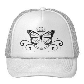 Elegant Royal Butterfly Cap