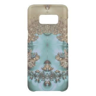 Elegant Royal Gold and Aqua Uncommon Samsung Galaxy S8 Case
