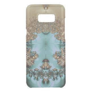 Elegant Royal Gold and Aqua Uncommon Samsung Galaxy S8 Plus Case