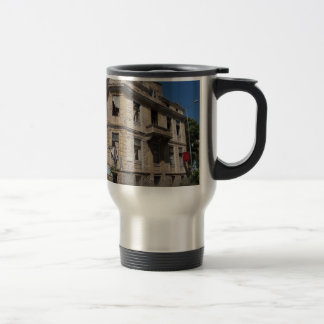 Elegant Ruin Stainless Steel Travel Mug