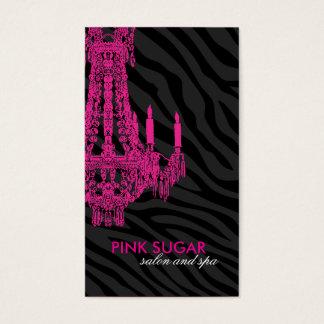 Elegant Sassy Salon and Spa Business Card