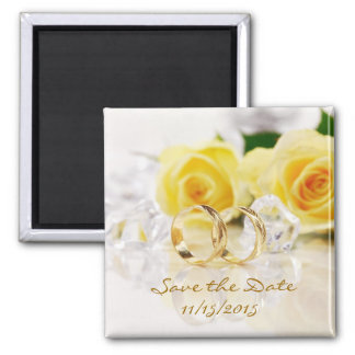 Elegant Save the Date Wedding Magnets