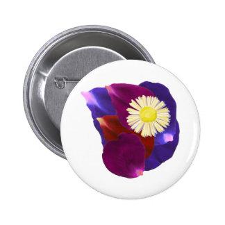 Elegant Sensual Rose Petal Art Pin