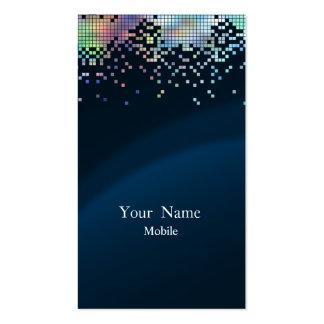 Elegant Sequins Hologram Business Cards